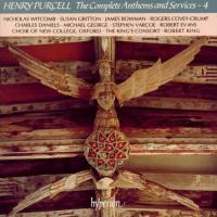 Purcell: The Complete Anthems and Services Vol 4 | King et al