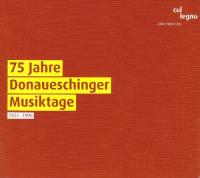 75 Jahre Donaueschinger Musiktage 19211996 (speciale uitgave)