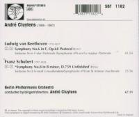 Andre Cluytens  Beethoven: Symphony No 6; Schubert: Symphony No 8