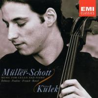 Debut  Music for Cello and Piano  Debussy etc|MullerSchott, Kulek