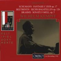 Schumann: Fantasie in C minor; Beethoven, Brahms etc | Wilhelm Kempff