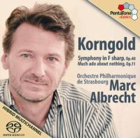 Korngold: Symphony In F Sharp, Op. 40  Much Ado About Nothing, Op. 11