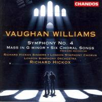 Vaughan Williams: Symphony no 4, Mass in G minor etc | Hickox, LSO et al