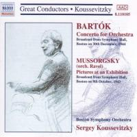Great Conductors  Koussevitzky Bartok: Concerto for Orchestra; Mussorgsky
