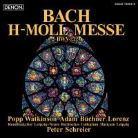 Mass In B Minor:  Schreier | Neues Bachisches Collegium Popp T.Adam (speciale uitgave)