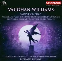 Vaughan Williams: Symphony No. 5 etc  Hickox SACD (Hybride|Stereo|5.1) (speciale uitgave)