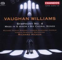 Vaughan Williams: Symphony No. 4, Mass  Hickox SACD (Hybride|Stereo|5.1) (speciale uitgave)