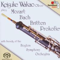 Keisuke Wakao, Oboe plays Mozart, Bach, Britten and Prokofiev SACD (Hybride|Stereo|5.1) (speciale uitgave)