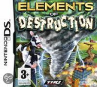 Elements Of Destruction Nintendo Ds