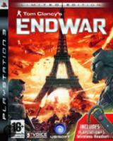Tom Clancy's End War Limited Edition & Headset