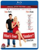 What's Your Number (Bluray+Dvd)