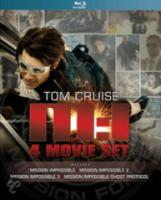Mission: Impossible 1 t|m 4 (Bluray)