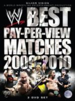 WWE  Best PayPerView Matches 20092010