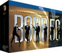 James Bond  50th Anniversary Bluray Collection