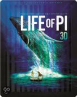 Life Of Pi (3D Bluray Steelbook Collector's Edition)