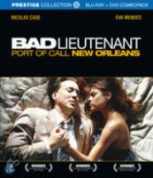 Bad Lieutenant: Port of Call New Orleans (Bluray+Dvd Combopack)