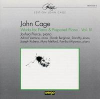Cage: Works for Piano and Prepared Piano Vol IV