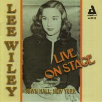 Live On Stage Town Hall  New York|Recorded 1944