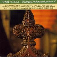 Purcell: Complete Anthems and Services10|King's Cons