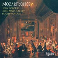 Mozart: Songs | Rodgers, Ainsley, Vignoles