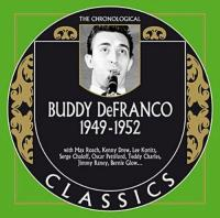 Buddy Defranco  Chronological 19491952 (CD)