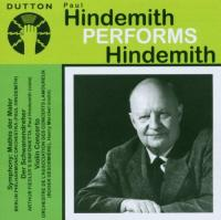 Hindemith, P.  Paul hindemith performs h (CD)