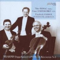 Brahms|Dvorak  Double concerto|piano tri (CD)