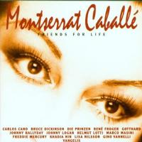 Montserrat Caballe  Friends for life (CD)