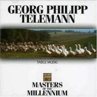 Telemann, G.P.  Table music (CD)