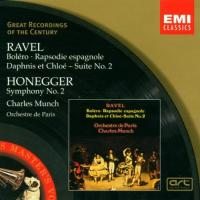 Ravel|Honegger  Rapsodie espagnole|sym.no (CD)