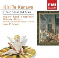 Kanawa, Kiri Te  French songs & arias (CD)
