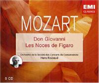 Mozart, W.A.  Don giovanni|les noces.. (5CD)