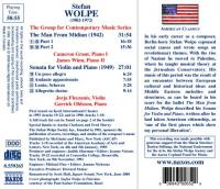 Wolpe, S.  Man from midian (CD)