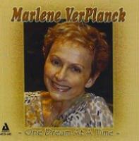 Verplanck, Marlene  One dream at a time (CD)